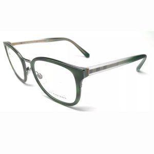 Burberry Unisex Matte Green Eyeglasses!